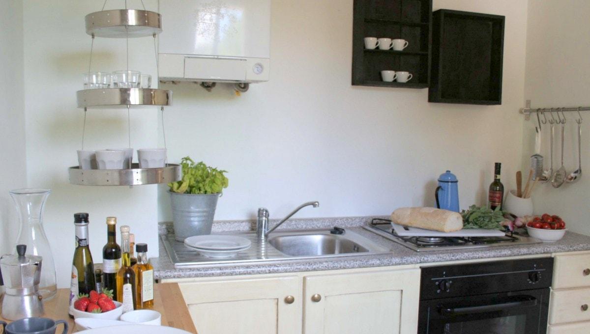 Umbrien Ferienwohnung apartment kitchen