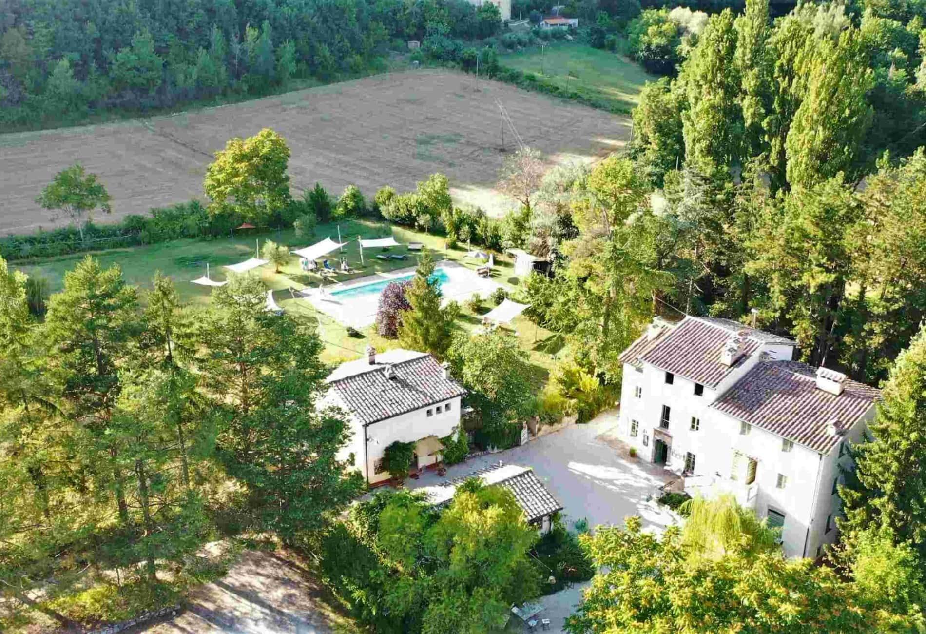 Aerial Agriturismo Umbria